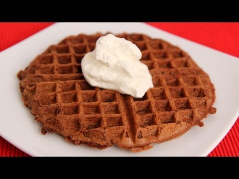 Chocolate Waffles Recipe – Laura Vitale – Laura in the Kitchen Episode 546