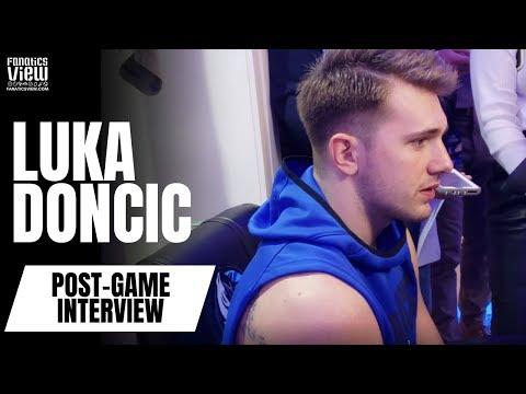 Luka Doncic on Breaking Michael Jordan's Record, Game Tying No-Call, NBA Officials & Derrick Rose