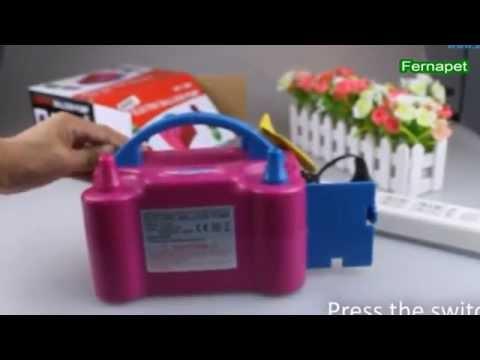 Inflador Globos Eléctrico 2 Inyectores