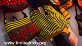 Cloth Bags from Manipur at Dilli Haat