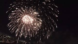 Pretty Lights and Glowing Sparrows (Drone DJI FPV Philadelphia Independence Day Fireworks Test)
