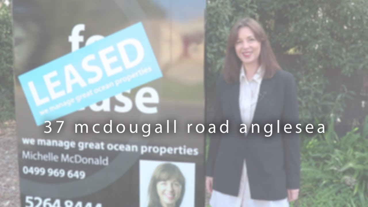 Leased - 37 McDougall Road Anglesea