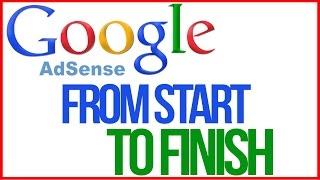 How To Setup Google Adsense From Start To Finish - Adsense Tutorial