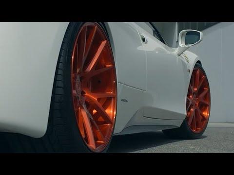 Ferrari 458 Italia on Vossen Forged VPS 306 Wheels