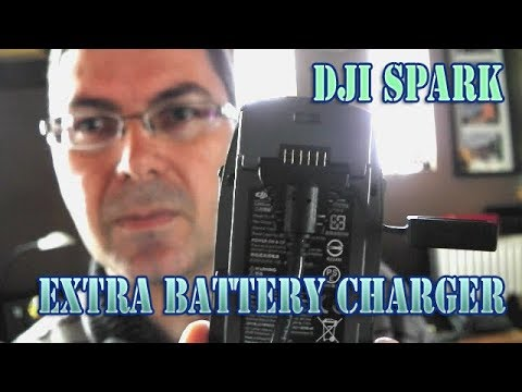 Accesories to charge the extra batteries Dji Spark
