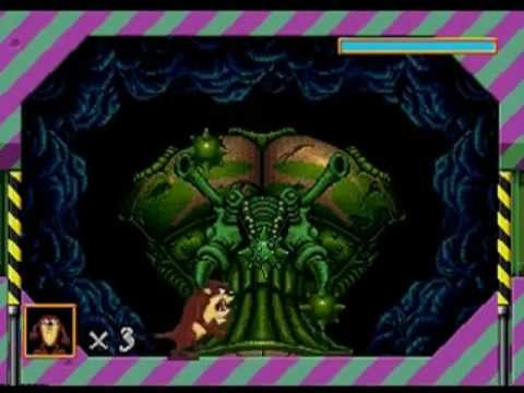 Taz in Escape from Mars Megadrive