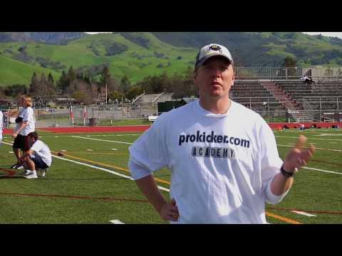 PAC 10 Record Setting Kicker on Prokicker.com Football Kicking Camps