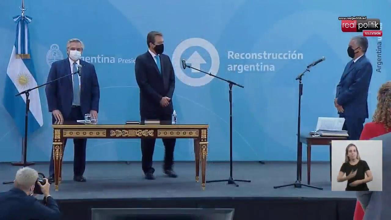 Tras la salida de Marcela Losardo, Martín Soria jura como ministro de Justicia de la Nación