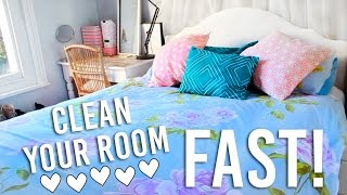 How To Clean Your Room FAST! In 30 minutes   Cleaning Hacks