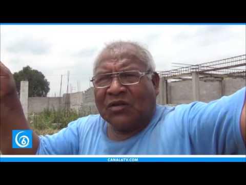 Avance en la colocación de drenaje de la colonia Humberto Vidal 1ra Sección en Chalco