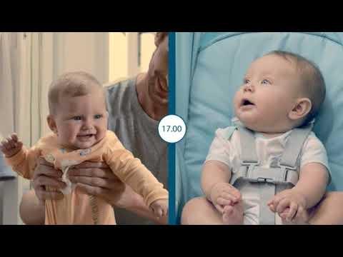 مهد و كرسي الاطفال بيبي هاغ 4 في 1 | شيكو