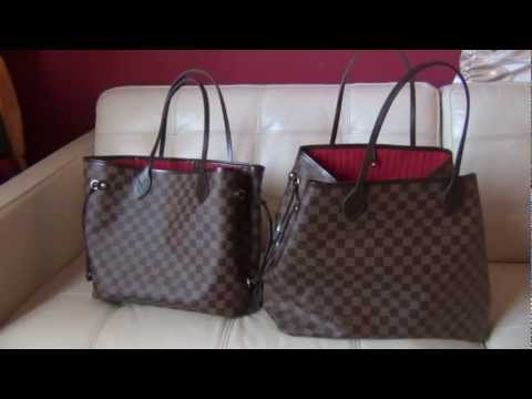 Louis Vuitton Neverfull GM and MM Review and Comparison