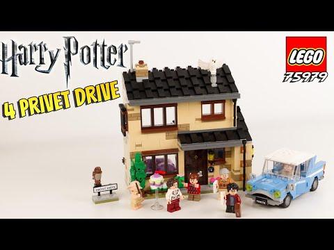 Vidéo LEGO Harry Potter 75968 : 4 Privet Drive