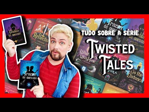 TWISTED TALES | Tudo sobre a série de livros ÀS AVESSAS da Disney! ?