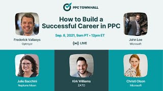 How to Build a Successful Career in PPC - PPC Town Hall 43