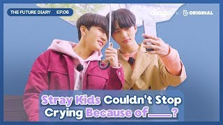 Stray Kids Cries At The Mountain Top [The Future Diary_EP.06] • ENG SUB • dingo kdrama