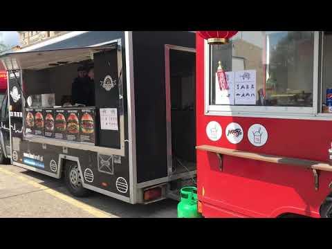 Wideo1: Festiwal food trucków w Lesznie