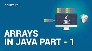 Arrays in Java Part - 1 | Introduction to Java Arrays | Java Programming | Java Edureka