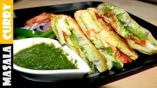 BOMBAY VEG Sandwich recipe | BOMBAY Masala Toast | VEG Sandwich Recipe