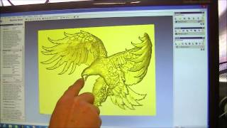 91 A simple demonstration of how to make a 3D relief ArtCam