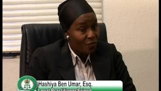 Documentary on Hon.Justice Aloma Mariam Mukhtar, GCON..PART 2