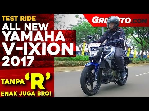 All New Yamaha V-Ixion 2017 l Test Ride Review l GridOto
