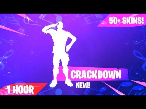 Fortnite - CRACKDOWN Emote (1 Hour) (Music Download Included)