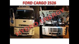 Ford cargo 2526 hidrojen yakıt tasarruf cihaz montajı