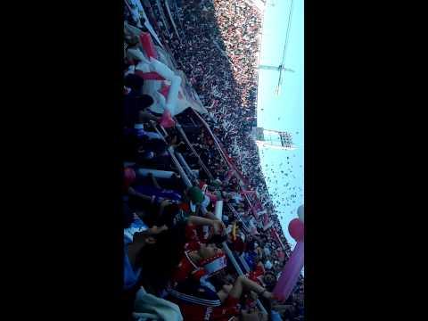 """Entra la banda de la Quema - Huracán 1 SL 0"" Barra: La Banda de la Quema • Club: Huracán"