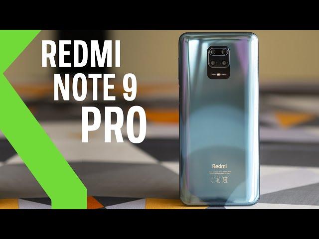 Xiaomi Redmi Note 9 Pro ANÁLISIS - Mucha batería, poca optimización