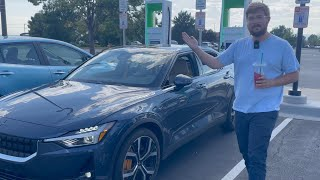 2021 Polestar 2 0-100% DC Fast Charging Test Is Not Quite As Advertised