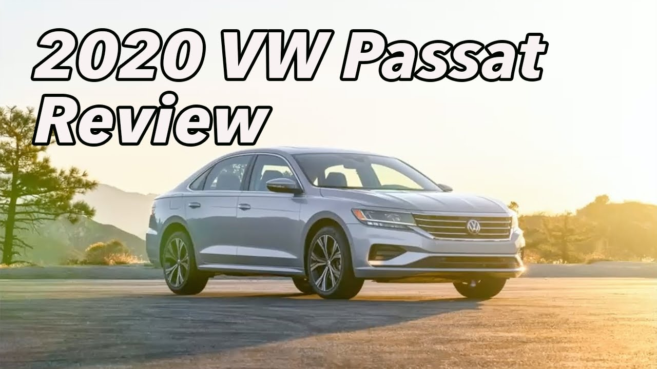 2020 Volkswagen Passat SEL- Review & Road Test by James McKeone