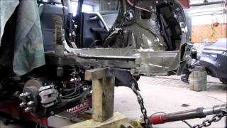 TOYOTA RAV 4. Body repair. Ремонт кузова.
