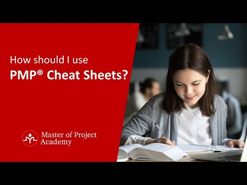 How Should I Use PMP® Cheat Sheets? - YouTube