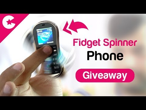 Fidget Spinner Phone Unboxing & Review!!
