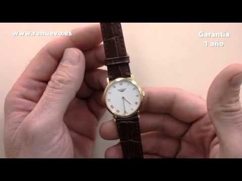 Reloj LONGINES de oro de 18 kilates de segunda mano E223221A