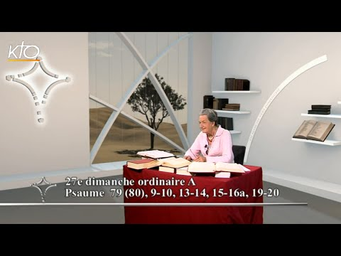 27e dimanche ordinaire A - Psaume