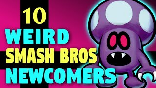 10 Weird Smash Bros Fighter Ideas - Contest Results!