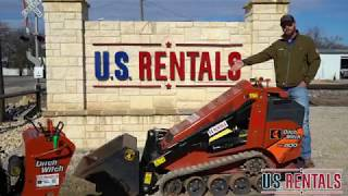 U.S. Rentals: DitchWitch SK800 Tutorial