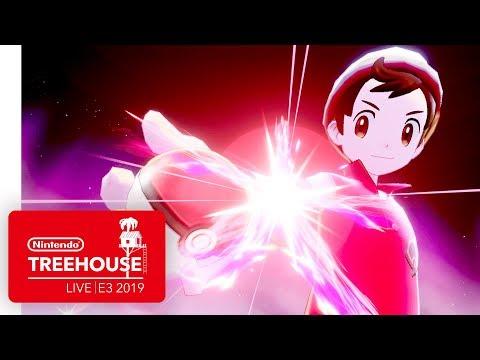 Pokémon Sword and Pokémon Shield Gameplay - Nintendo Treehouse: Live | E3 2019 thumbnail