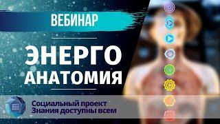 """Вебинар """"Энергоанатомия"""" в рамках Социального проекта """"Знания доступные всем"""""""