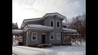 Что такое тепловой контур дома? Дом из клееного бруса.