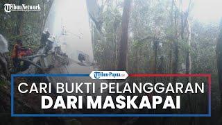 Kapolres Intan Jaya Cari Bukti Dugaan Pelanggaran Maskapai atas Kasus Kecelakaan Rimbun Air