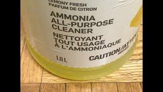 Ammonia Jar Spell.