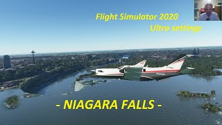 Niagara Falls to Toronto City Centre in Microsoft Flight Simulator 2020
