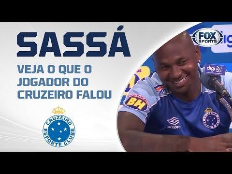 APÓS GOLAÇO, SASSÁ CONCEDE ENTREVISTA COLETIVA! Veja o que o jogador do Cruzeiro falou