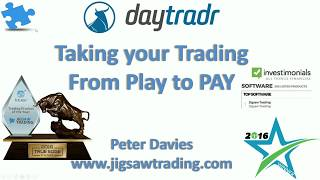 Successfully trading the open w/Peter Davies - Самые лучшие