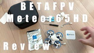 BETAFPV Moteor65HD Review!FPV映像は途中まで。