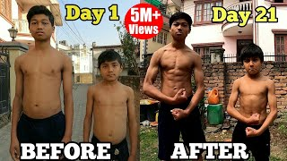21 Days Epic Body Transformation   Home Workout Challenge   No Equipment   Aayush & Abhay