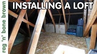 Creating A Loft - Workshop Storage - NEW WORKSHOP EPISODE 4